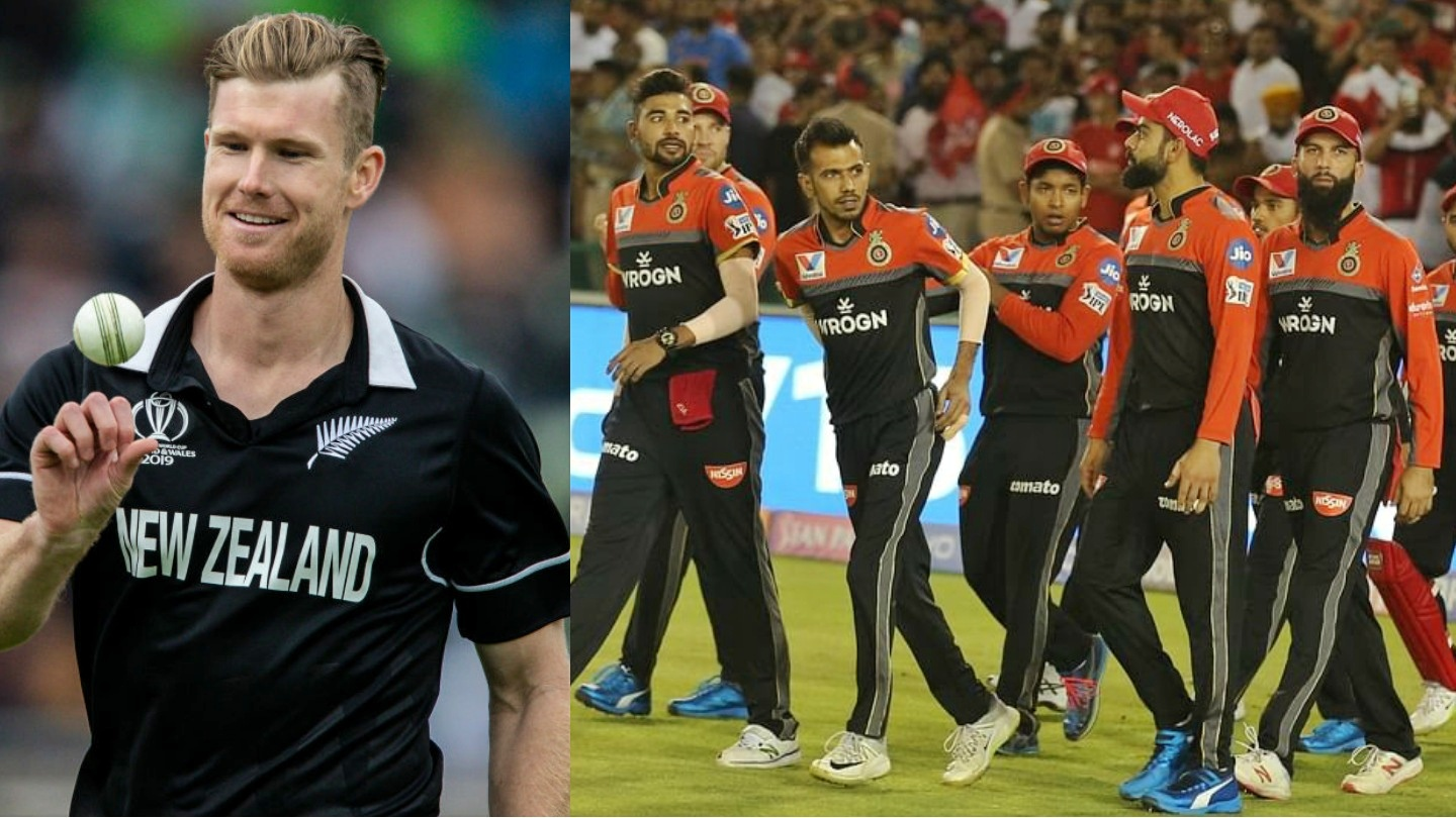 Jimmy Neesham hilariously replies to a fan who asked about the chances of RCB winning this year