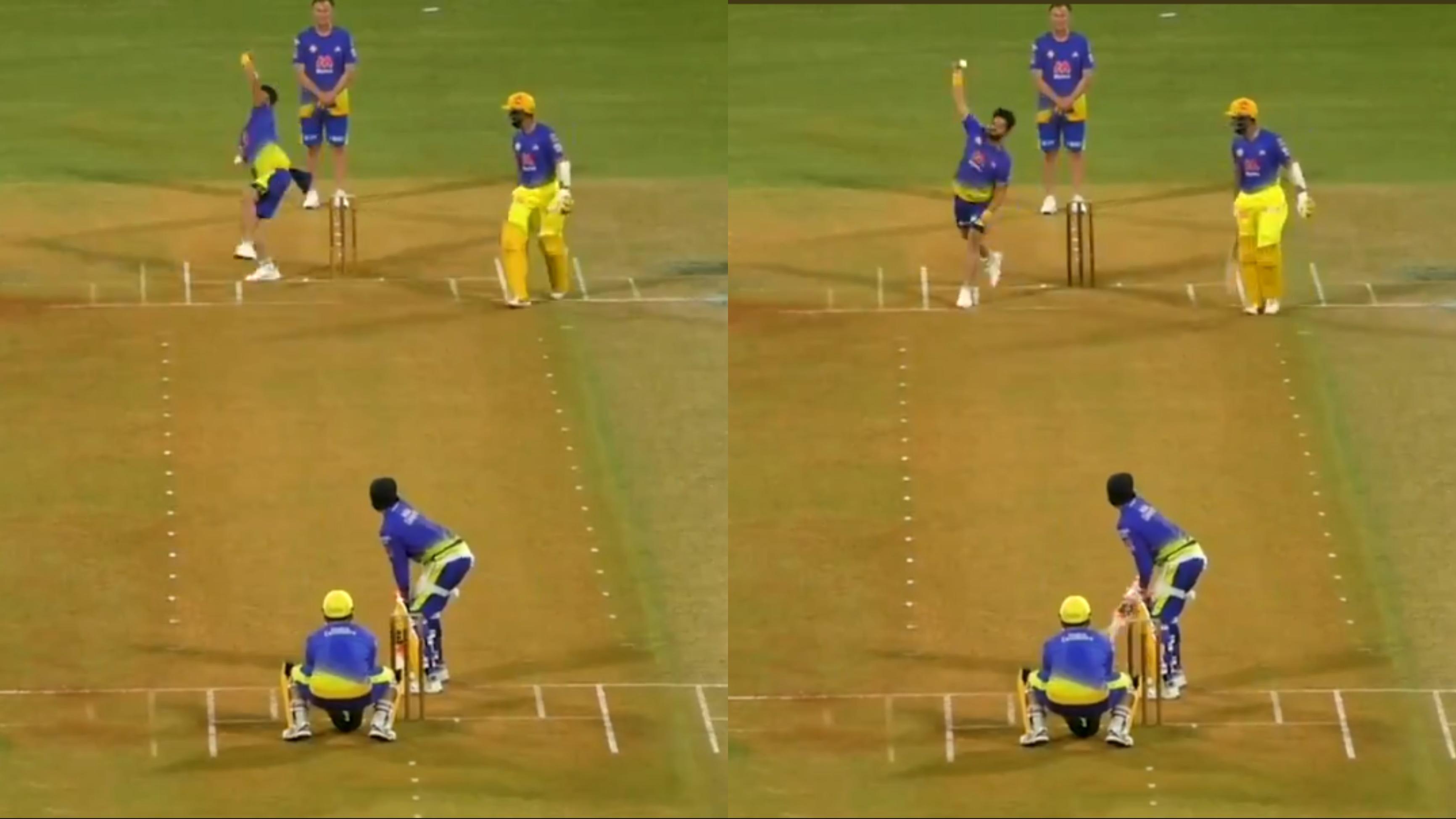 Watch: Suresh Raina bowls in CSK's practice match