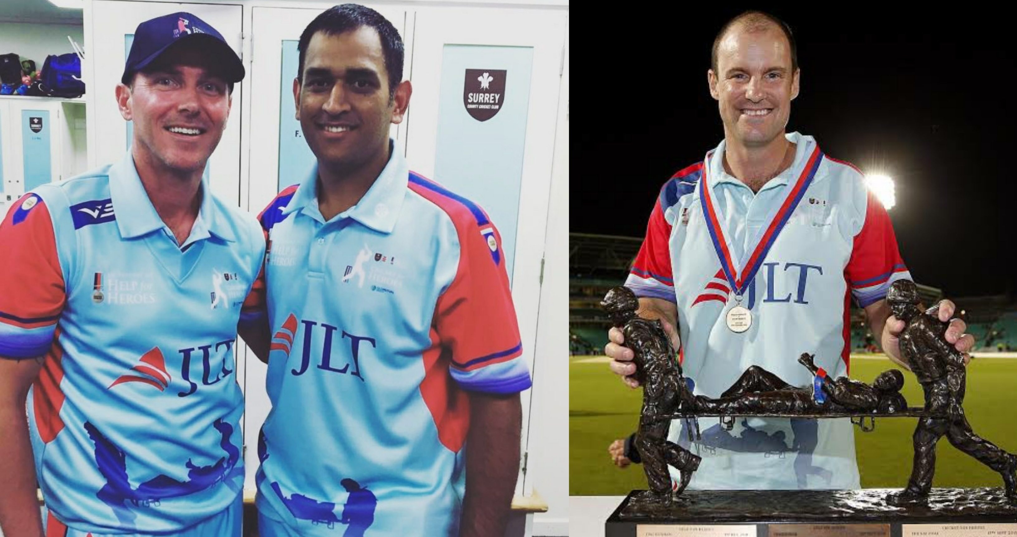 Dhoni Help For Heroes XI