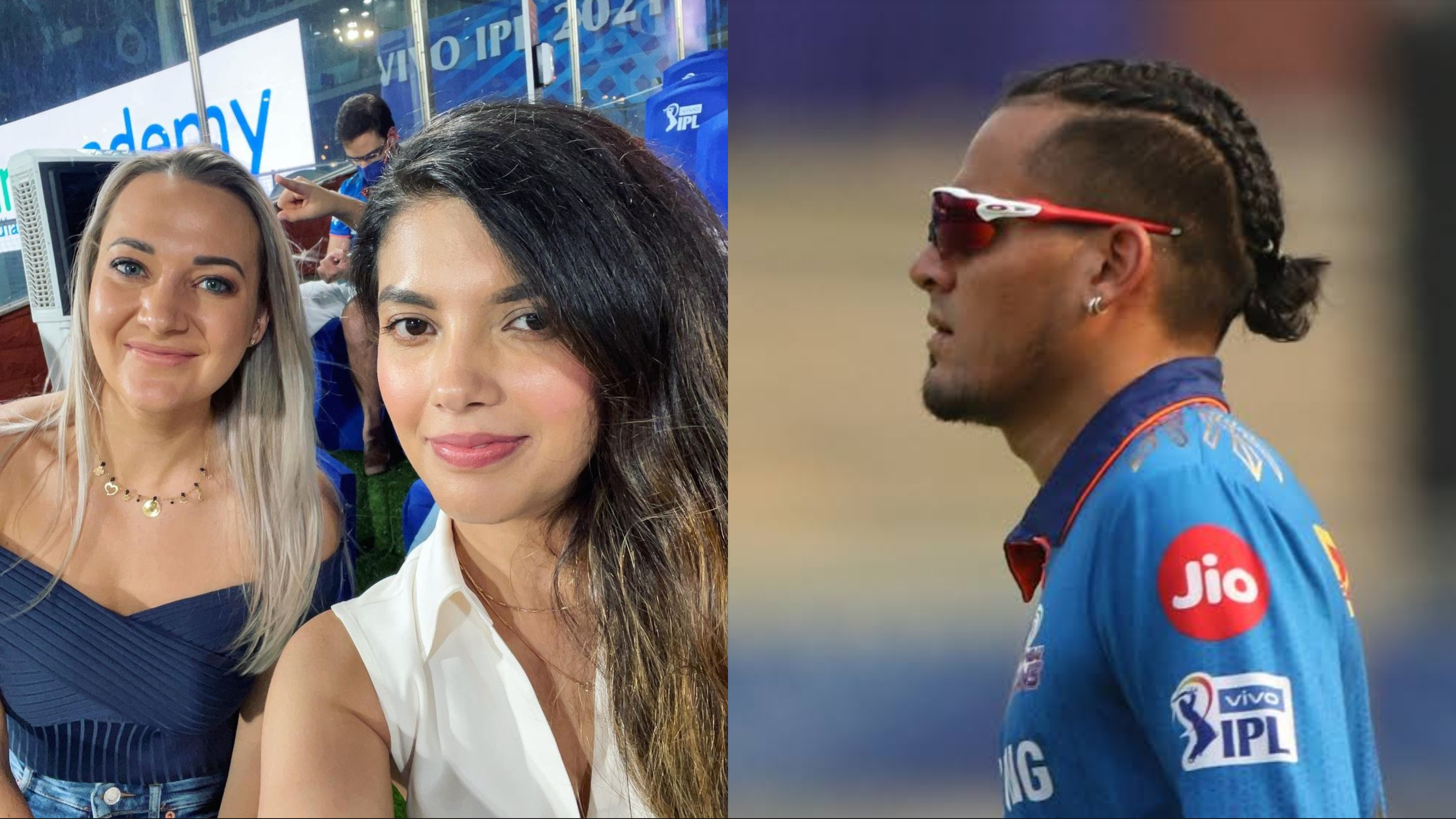 Rahul Chahar reacts to Sasha de Kock's latest Instagram carousel post