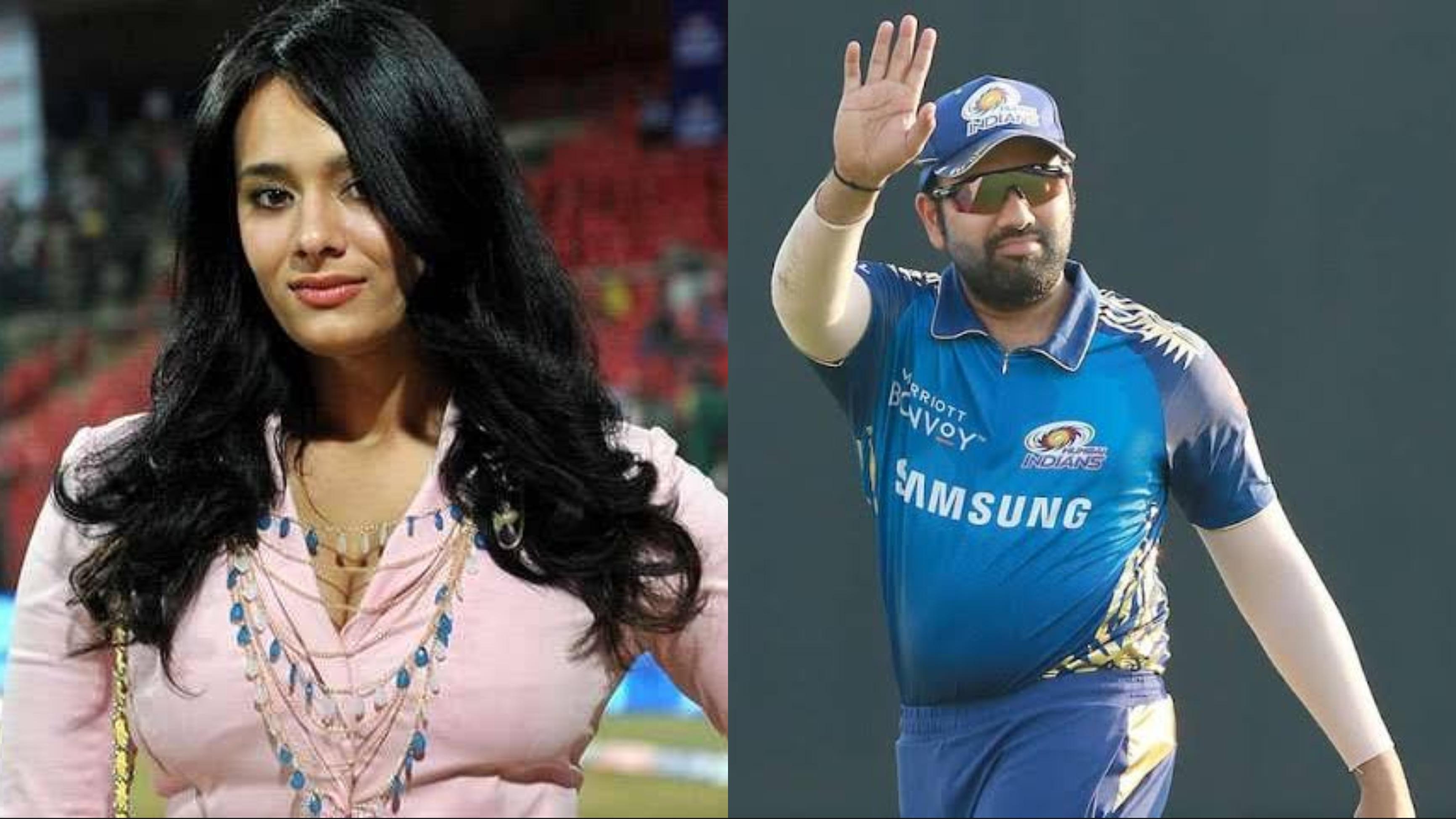 Here's how Mayanti Langer will honor Rohit Sharma if MI score 200 runs against KKR