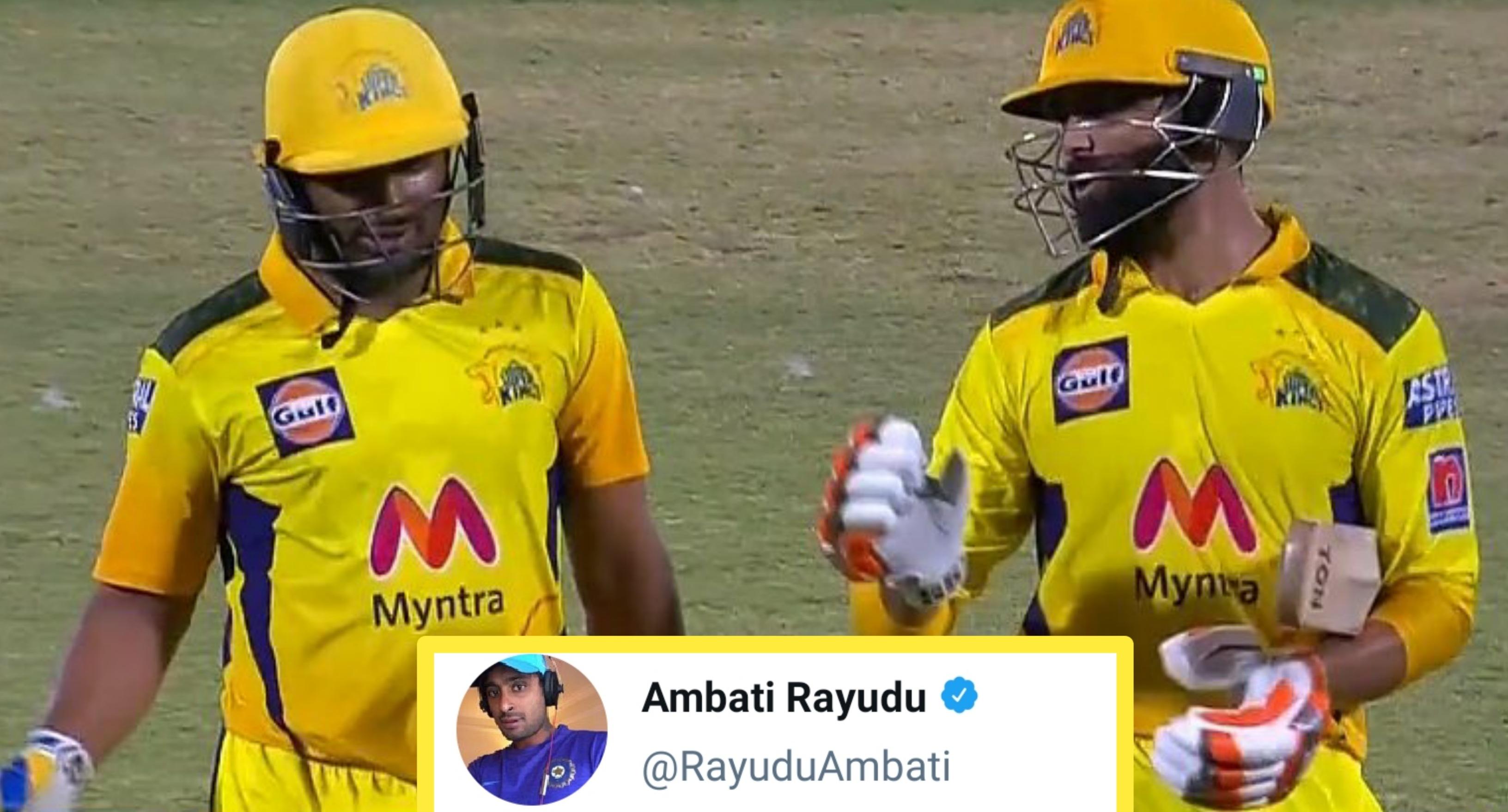 Old tweet of Ambati Rayudu goes viral after 72*(27) vs. MI