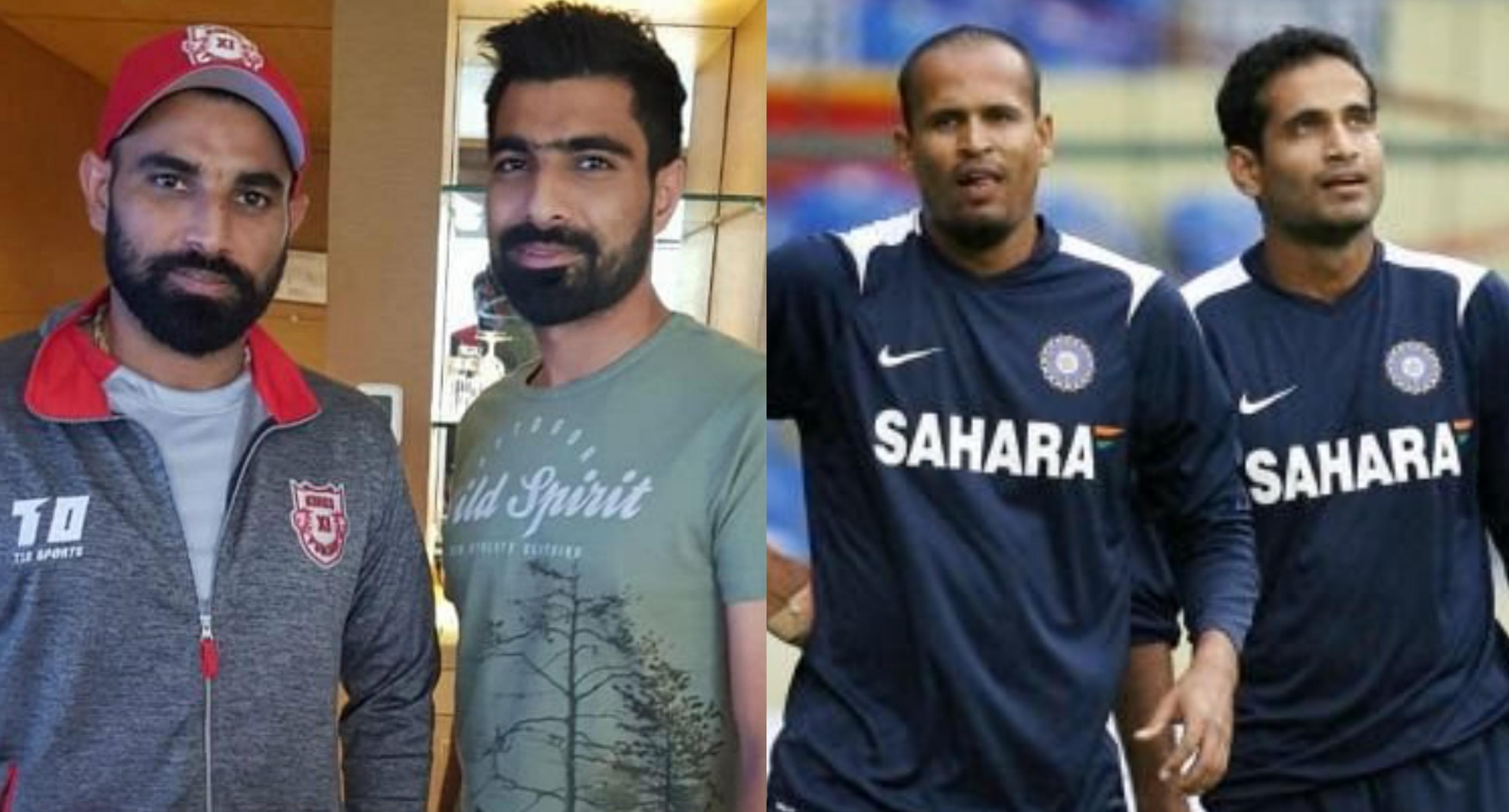Pathan and Shami brothers