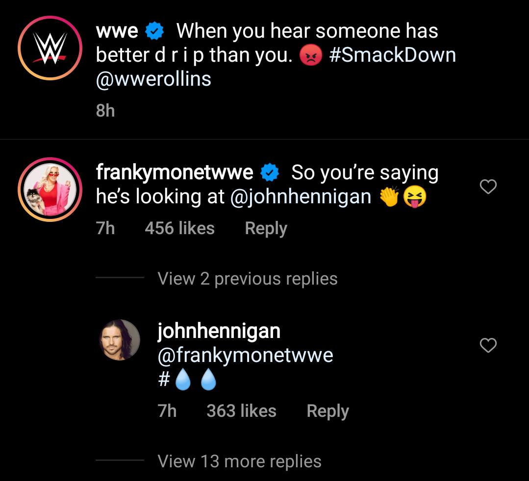 John Morrison wife comment