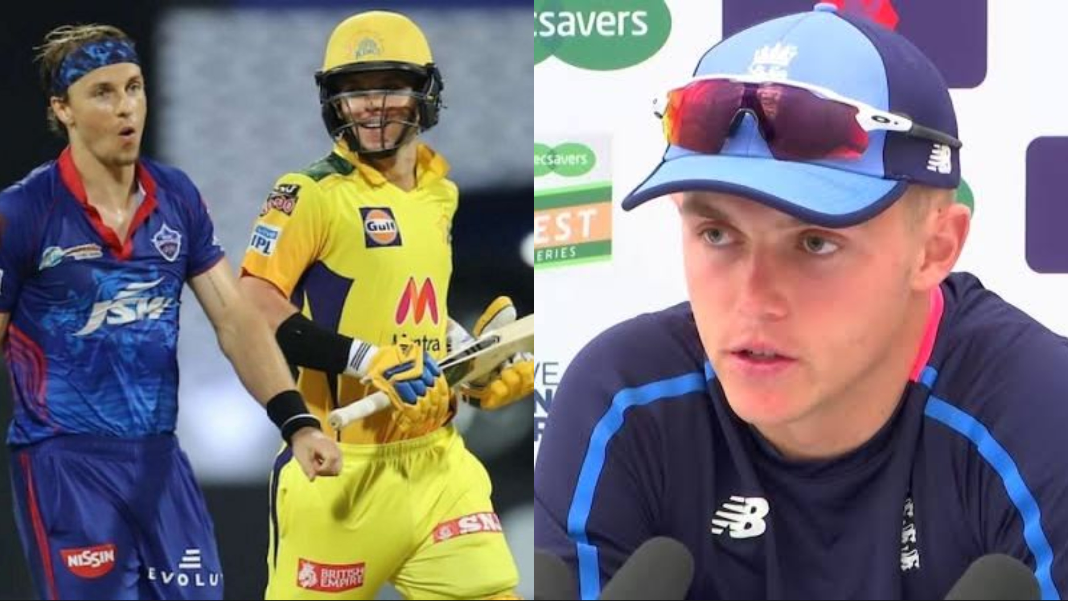 Sam Curran reflects on sibling rivalry with Tom Curran