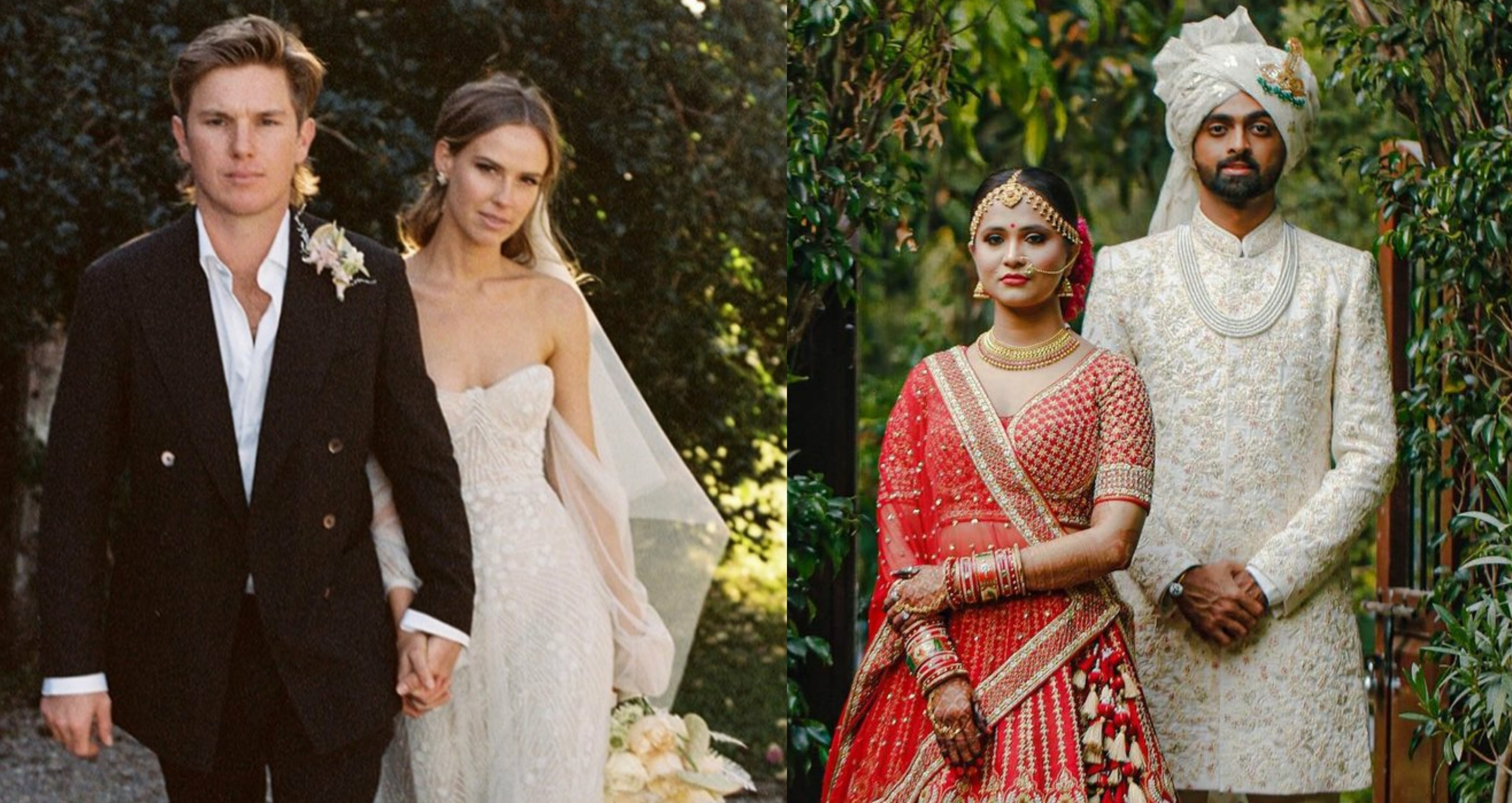 Cricket stars who tied the knot