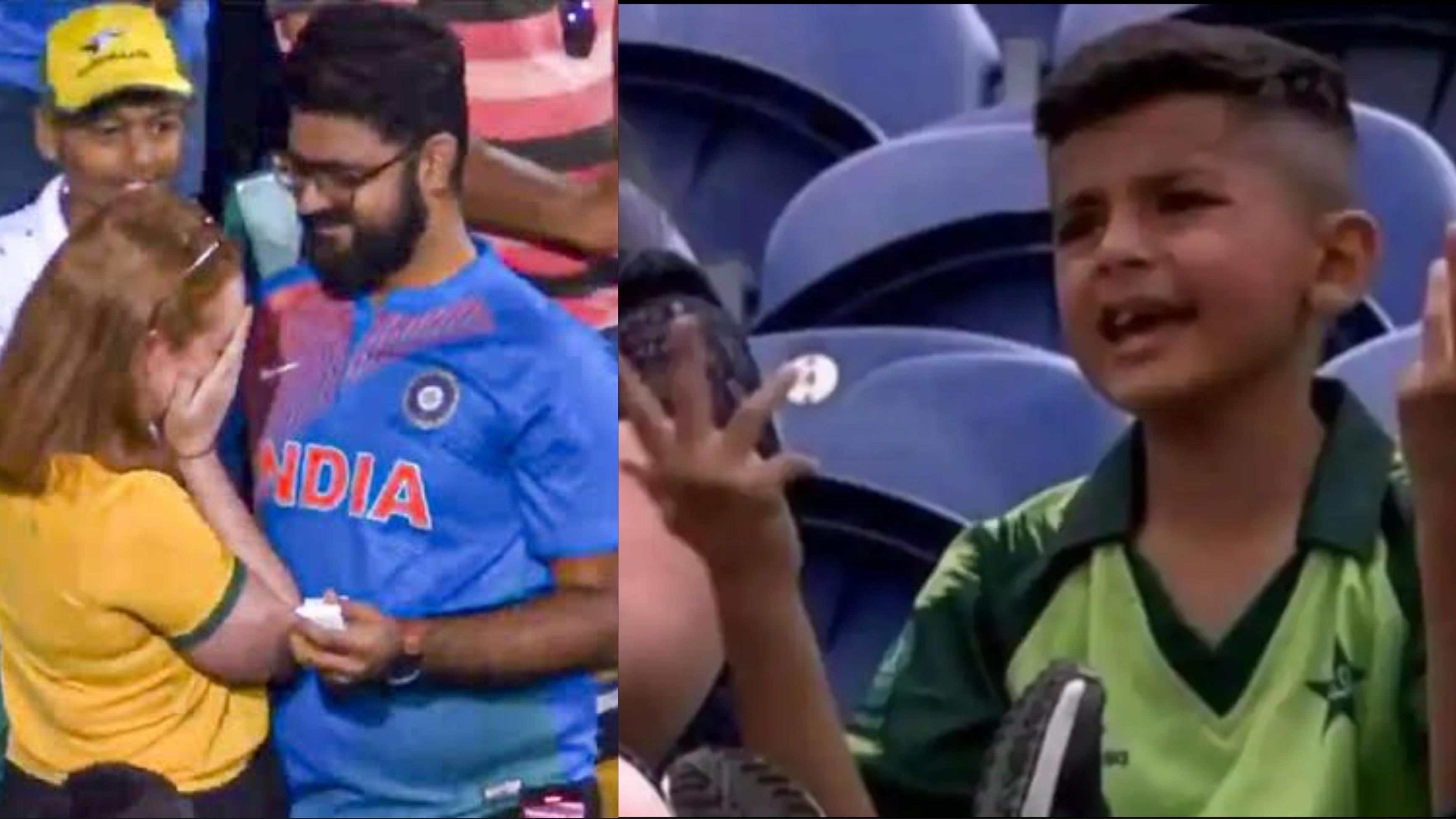 Cricket matches at stadiums