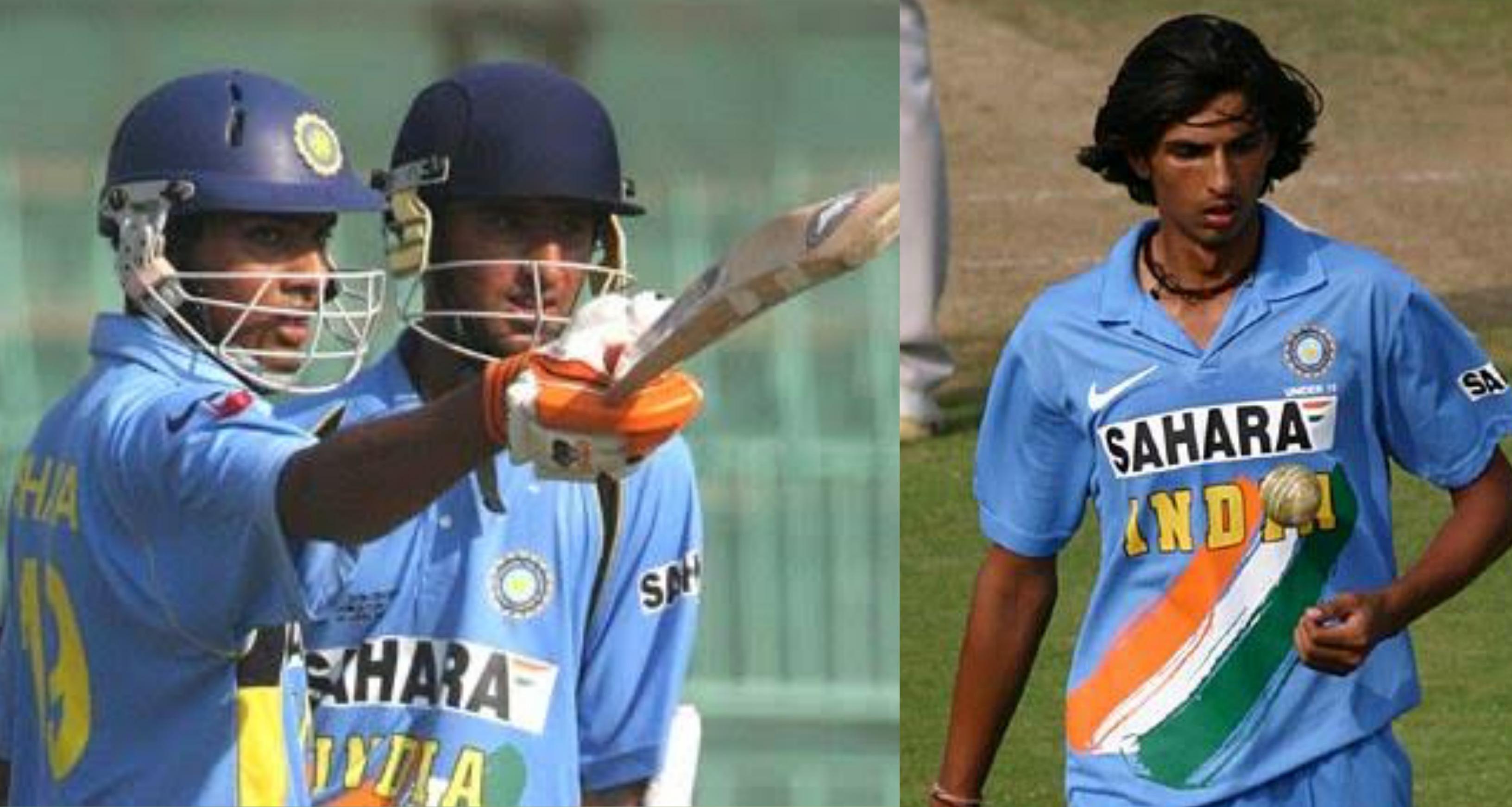 Rohit Sharma and Ishant Sharma u-19