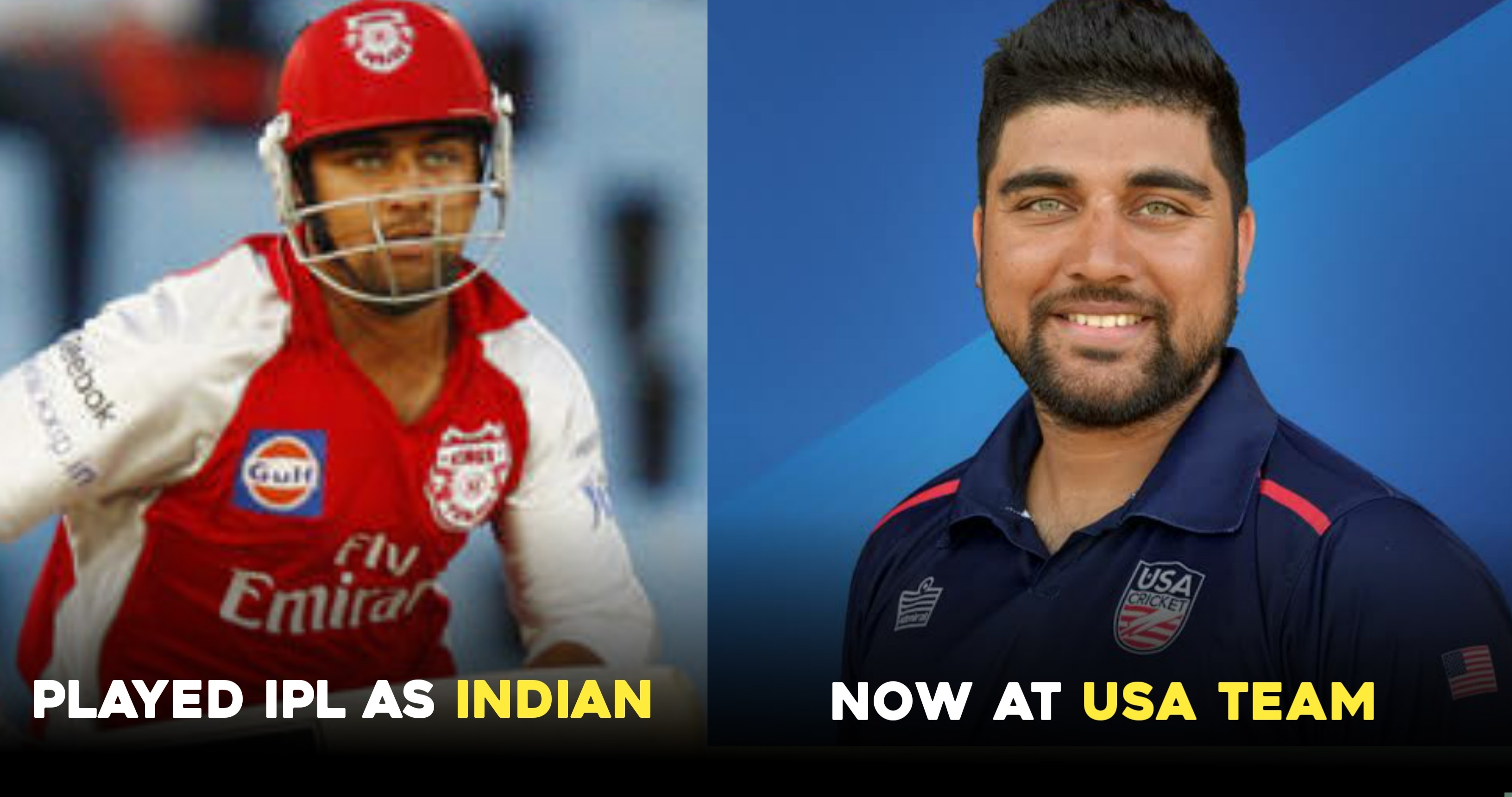 5 India-born cricketers who are now a part of the USA cricket team