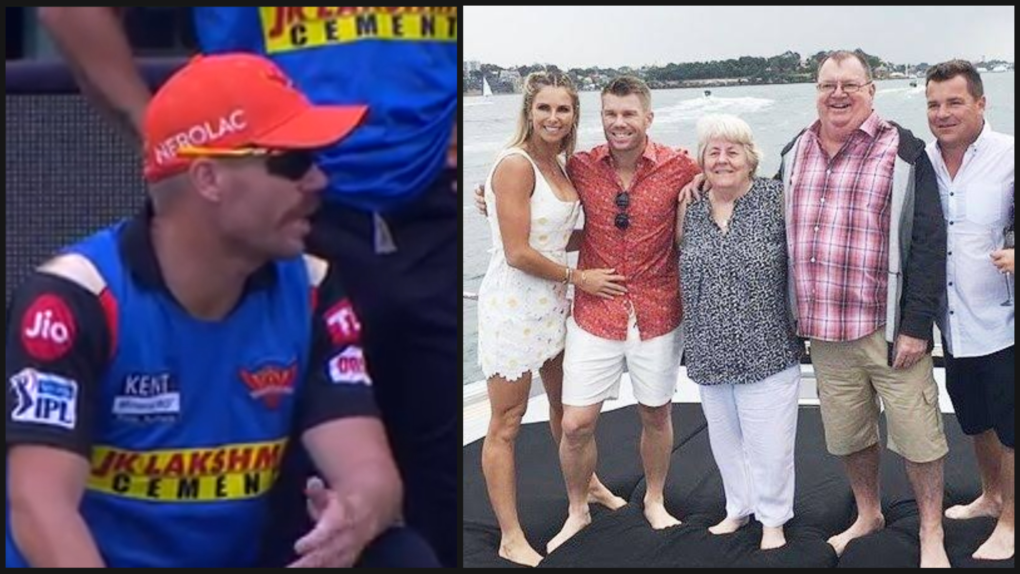 Instagram post of David Warner's brother goes viral after SRH drop him